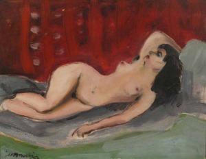 Janusz Maria BRZESKI (1907 - 1957), Akt, 1946
