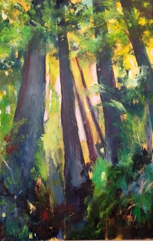 Katarzyna Karkola, Wychodząc z lasu, 2021r.