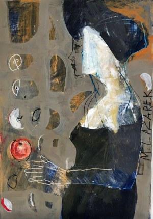 Małgorzata Lazarek, Kobieta w czarnej sukni
