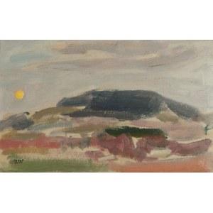 Wojciech WEISS (1875-1950), Wschód księżyca nad Kalwarią, 1904