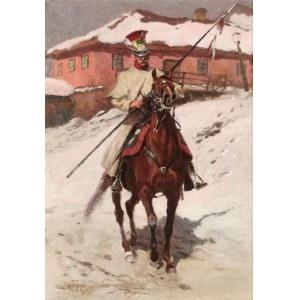 Zygmunt ROZWADOWSKI (1870-1950), Szwoleżer [Żołnierz 1. Pułku Szwoleżerów - Lansierów Gwardii Cesarskiej], 1909