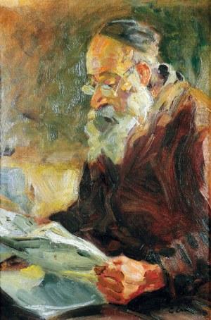 Erno ERB (1890-1943), Postać czytającego Żyda