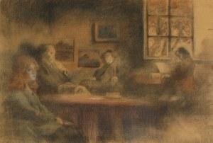 Stanisław CZAJKOWSKI (1878-1954), W izbie