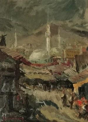 Adolf BEHRMANN (1876-1942), Motyw z orientalnego miasta