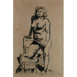Jankel ADLER (1895-1949), Stojący akt, 1940