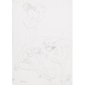 Maja BEREZOWSKA (1898-1978), Okrągły stół, ok. 1960