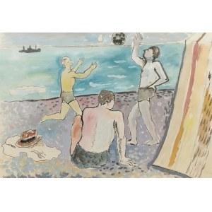Roman SIELSKI (1903-1990), Na plaży