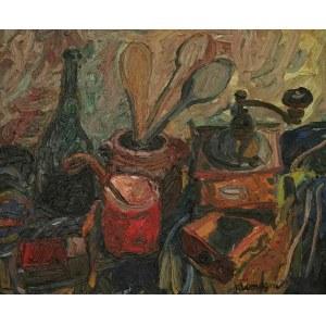 Pinchus KRÉMEGNE (1890-1981), Młynek do kawy [Le moulin a café]