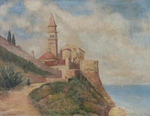 L. ZIMMERMANN, XX w., Pejzaż śródziemnomorski