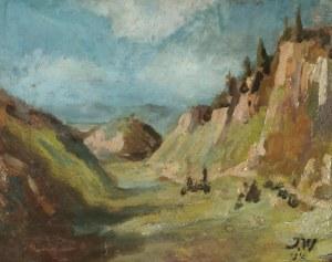 Jan WOJNARSKI (1879-1937), Pejzaż z Dolinki Krakowskiej, 1910