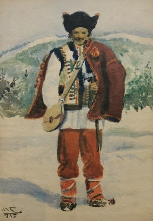 Antoni Ferdynand CHITRY de FREYSELSFELD (1873-?), Postać hucuła
