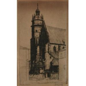 Jan WOJNARSKI (1879-1937), Kościół Bożego Ciała w Krakowie