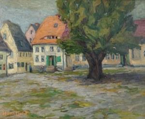 Hans LICHT (1876-1935), Plac w małym miasteczku