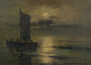 Wiktor KORECKI (1890-1980), W świetle księżyca