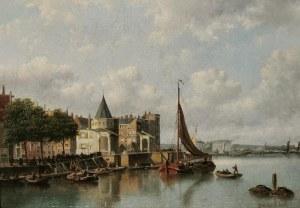 Johann Jakob Anton HILVERDINK (1837-1884), Nabrzeże w Amsterdamie