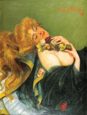 Bolesław NITECKI (OK.1871-1899), Panna Rosa