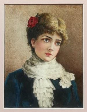 Szymon BUCHBINDER (1853-1908?) - przypisywany, La Bella Rosa