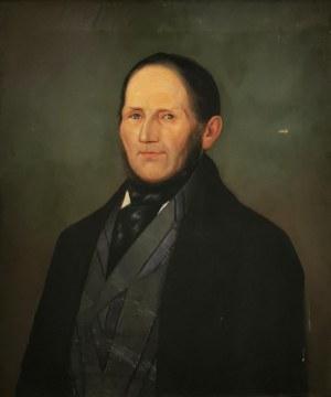 Malarz nieokreślony, XIX w., Portret mężczyzny