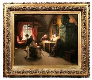Richard LINDERUM (1851-1926), Między modlitwą a kontemplacją