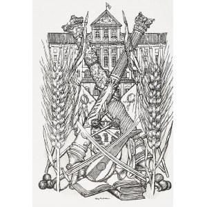 Józef MEHOFFER (1869-1946), Radziwiłłowie -frontispis książki J. Czarneckiego