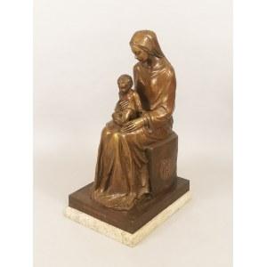 Antonio SPAGNOLI (1849-1932) ?, Madonna z Dzieciątkiem