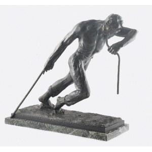 Sylvain NORGA (1892-1968), Mężczyzna ciągnący linę