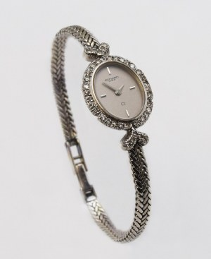 Firma BONARD GENEVE, Zegarek naręczny damski, z bransoletką