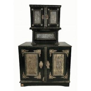 Kabinet w stylu barokowym