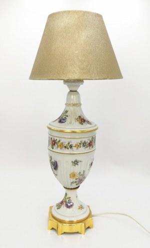 Lampa buduarowa w typie Potschappel
