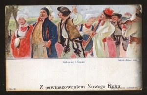Krakowiacy i Górale. Z powinszowaniem Nowego Roku.