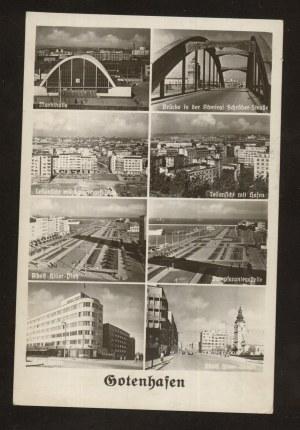 Gdynia (Gotenhafen).Osiem widoków ok.1942 r.