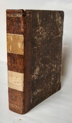 Kaliszewski, Nomenclator czterech języków, Warszawa 1805 r.