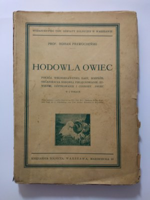 Prawocheński Roman prof.: Hodowla owiec. Tom I/II, 1937-39 r.