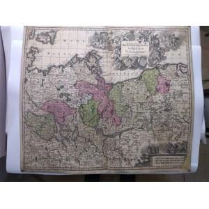 [mapa Brandenburgia] Seutter Matthaeus (1678-1756)
