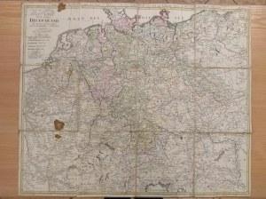 [Mapa dróg pocztowych krajów środkowej Europy] Gussefeld F. L. (1744-1807)