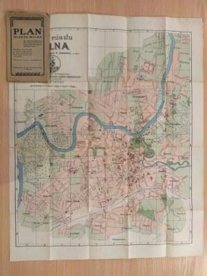 Plan miasta Wilna ze skorowidzem ważniejszych gmachów, Wilno 1928