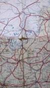 Mapa Samochodowa Polski. Stan dróg na 1939/1940