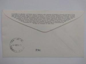 Citta del Vaticano.Koperta ze znaczkami wydanymi z okazji 1000 lecia Państwa Polskiego.
