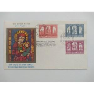 The Golden Series.Citta del Vaticano.Koperta ze znaczkami wydanymi z okazji 1000 lecia Państwa Polskiego .