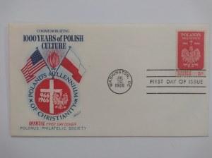 F.C.D. USA 5 c. 1000 lat Polskiej Kultury.