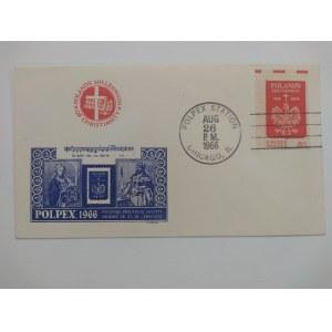 Polskie Towarzystwo Filatelistyczne w Chicago. POLPEX 1966 r.