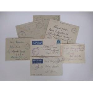 7 kopert adresowanych do polskich placówek w Nairobi lata 40.XX w.