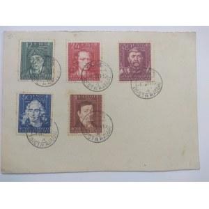 Karta pocztowa Szwajcarskiego Klubu Filatelistycznego