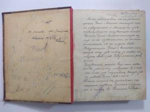 Sadownictwo, rękopis Czernichów 1898 r.