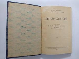 Wiśniewski, Historyczny Opis kościołów w powiecie włoszczowskim, 1932