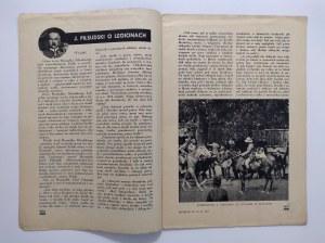 Płomyk. Rok XXI nr 34.Tom II. 11.V.1937 r. tygodnik dla dzieci i młodzieży.