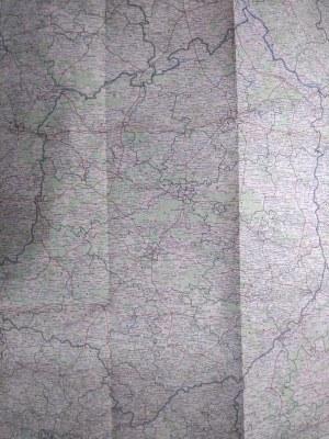 Mapa województwa Kieleckiego, PPWK 1962