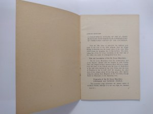 Massalski, Kaznowski, Guide des Excursions en Pologne, 1928 r.