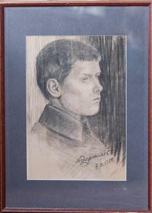 NEUGEBAUER MARIA. Chłopak 1920 r.