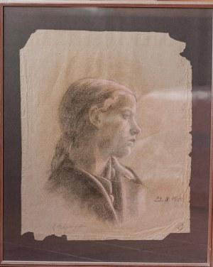 NEUGEBAUER MARIA. Dziewczyna 1920 r.